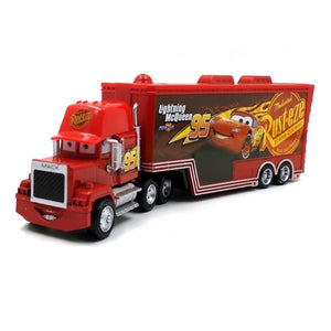 Cars 3 Toy Light ning Mcqueen Jackson Storm Mack Uncletruck King - sindbad toys