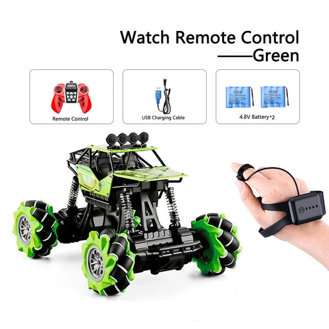 Rc Cars 4wd Watch Control Gesture Induction Remote Control