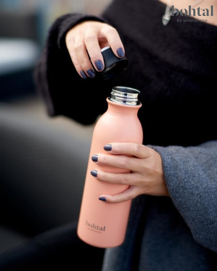 Bohtal Insulated Flask - Coral Pink