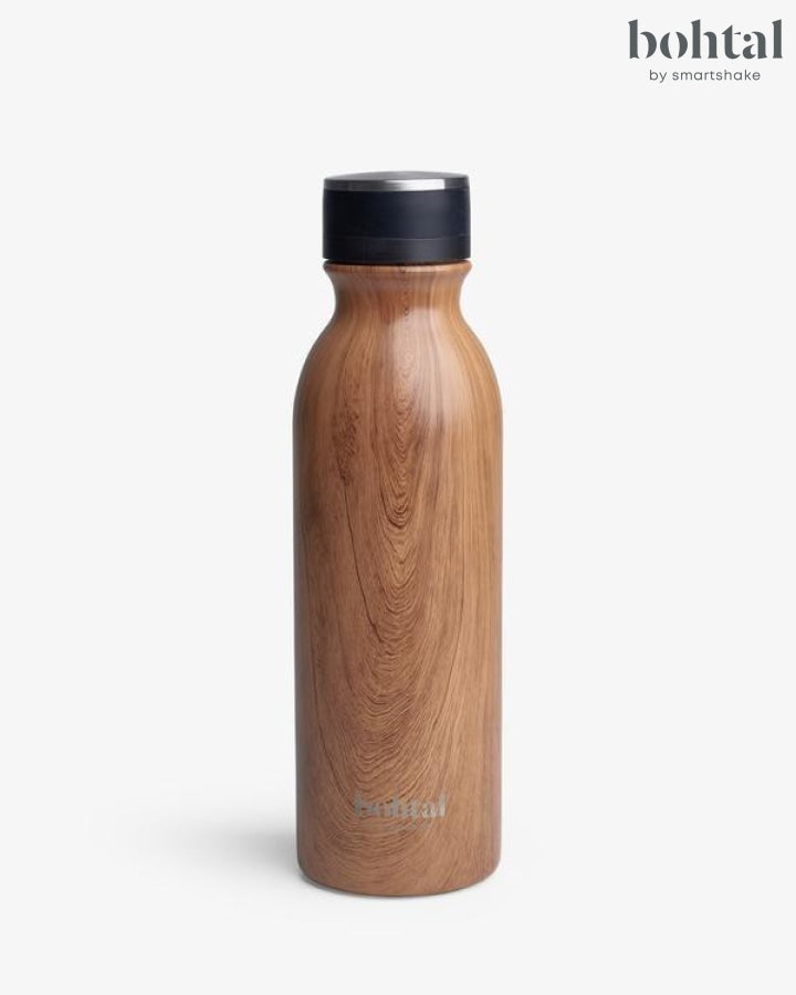 Bohtal Insulated Flask - Wood