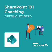 Load image into Gallery viewer, SharePoint 101 Coaching Getting Started Powered by Regroove