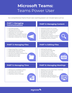 Microsoft Teams Power User Coaching Session by Regroove
