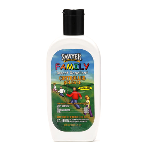 SP529 Sawyer Premium Family Formula Controlled Release Insect Repellent - 6 oz Lotion