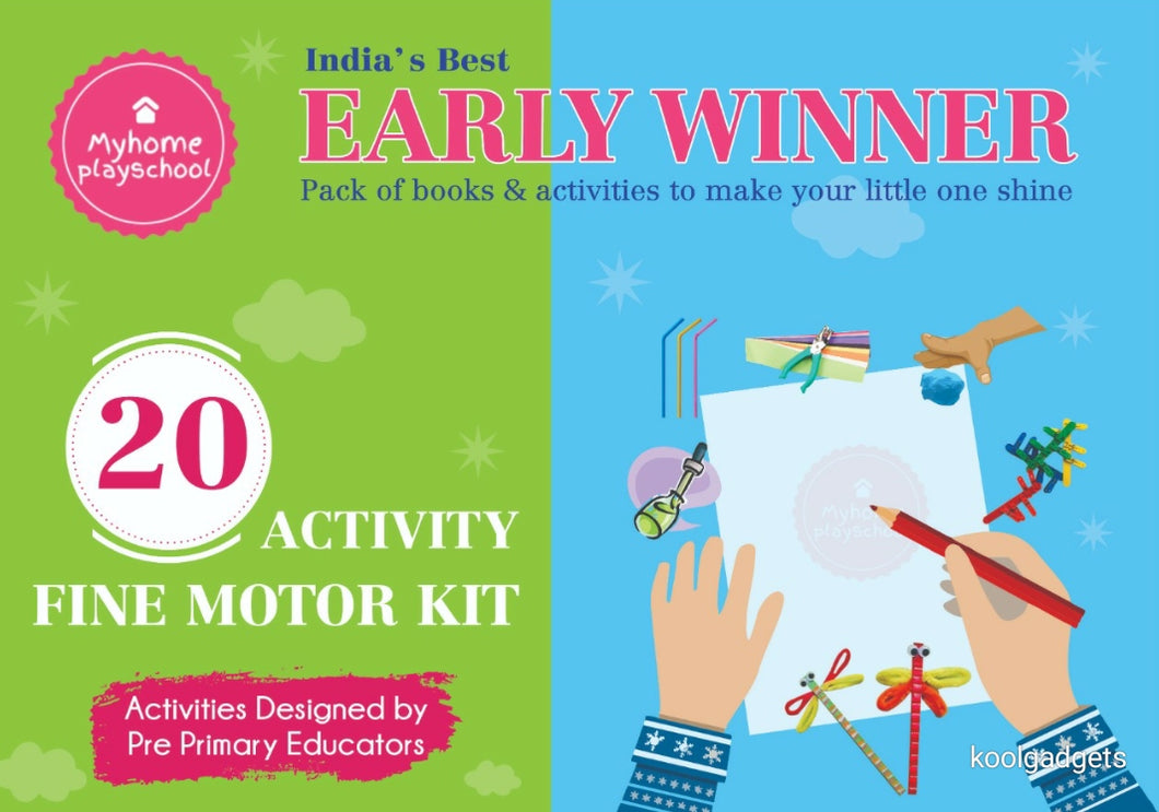 Early Winner Fine Motor Activity Kit - For 1.5 to 4 year old