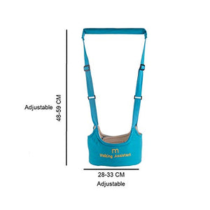 SYGA Baby Toddler Walking Assistant Harness Baby Walking Learning Belt Helper Walker Wings Safety Walking Harness Walker for Baby 6-24 Months_SkyBlue
