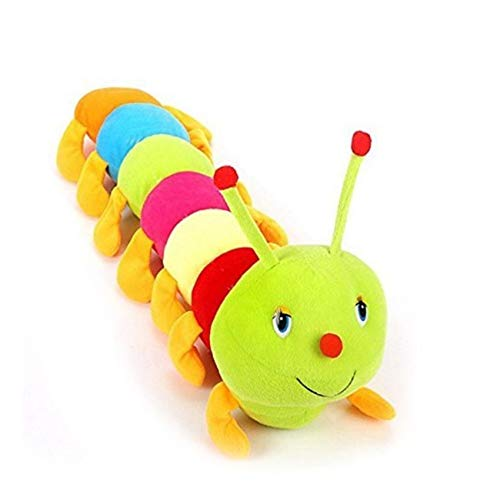 Mother's World Cute Caterpillar Soft Toy for Kids Multicolour Plush 60cm