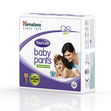 Load image into Gallery viewer, Himalaya Total Care Baby Pants Diapers, Medium, 78 no