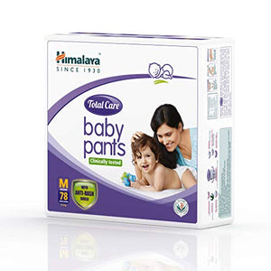 Himalaya Total Care Baby Pants Diapers, Medium, 78 no