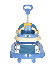 Load image into Gallery viewer, Mee Mee Baby Walker with Adjustable Height and Push Handle Bar (Blue)