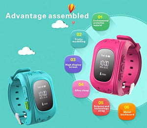 Sekyo Smart Kids GPS Tracking Watch with 3G SIM, Mobile Tracking, sos, Calling Function for Kids Safety