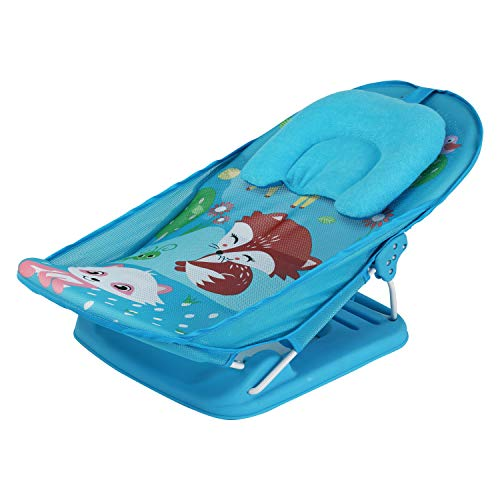 LuvLap Wild Woods Baby Bather for Newborn and Infants,