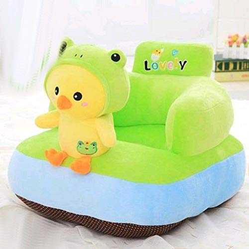 Magnetic Shadow Toddlers Baby Support Seat Sofa Chair Learn to Sit for Kids Infant 0-2 yrs (Toy Shape, Green Bird)