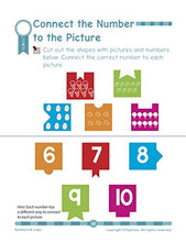 Load image into Gallery viewer, Numbers & Logic: Pre Kindergarten Workbook (Little Genius Series): Maths skill for 3-5 years