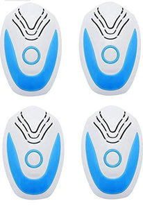 iGADG Pack of 4 Ultrasonic Pest Repeller for Rat, mice, Cockroach, Insects, Ants, Mosquito Reject