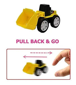 FunBlast Pull Back Vehicles Toy Cars and Trucks for 3+ Years Old