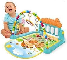 Load image into Gallery viewer, Cable World Kick and Play Musical Keyboard Mat Piano Baby Gym and Fitness Rack (Assorted Colour)