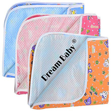Load image into Gallery viewer, Dreambaby Waterproof Nappy Changing Mat Bedding (Multicolor, 0-3 Months) - Set of 3