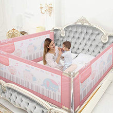 Load image into Gallery viewer, Baybee Bed Rail Guard for Baby Safety-Portable and Foldable Full Bed Rail for Kids