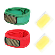 Load image into Gallery viewer, Safe-O-Kid - Reusable Comfortable Multicolor Fabric Mosquito Repellant Band