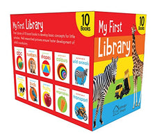 Load image into Gallery viewer, My First Library: Boxset of 10 Board Books for Kids