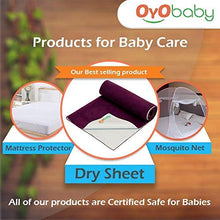 Load image into Gallery viewer, OYO BABY - Water Proof and Reusable Mat/Mattress Protector/Absorbent Sheets (100cm X 70cm, Medium) - Sea Blue