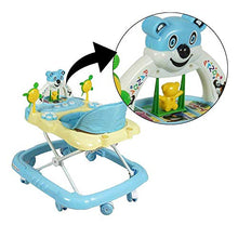Load image into Gallery viewer, PANDA Creation Adjustable Musical Walker (Blue)