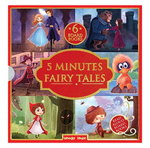 Load image into Gallery viewer, 5 Minutes Fairy Tales Bookset: 6 Board Books for Children