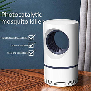 USB Mosquito Killer Lamp, Indoor Bug Zapper Plug in, Electronic LED Light Insect Trap Pest Control