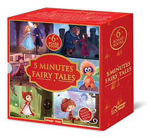 5 Minutes Fairy Tales Bookset: 6 Board Books for Children
