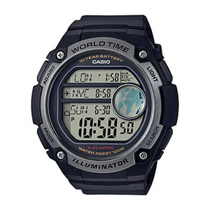 Casio Youth-Digital Digital Black Dial Men's Watch - AE-3000W-1AVDF (D135)
