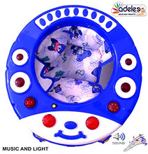Load image into Gallery viewer, ODELEE Musical Baby Activity Cat Face Foldable Baby Walker for Kids with Music and Light Age 6 Month+ (Blue)