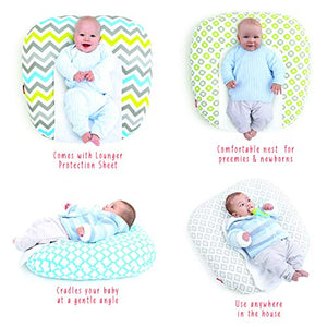 Cozy Snooze Baby Lounger (with Waterproof Protection)