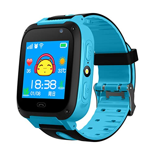 Sekyo Smart Kids GPS Tracking Watch with 4G SIM, Mobile Tracking, sos, Calling Function for Kids Safety