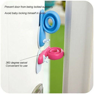 Cute Snail Door Guard Stopper for kids safety