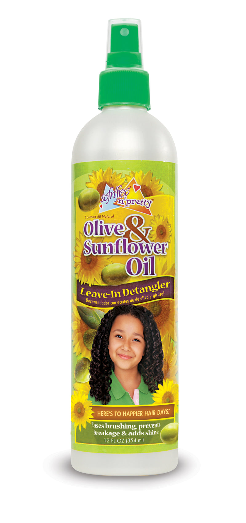 Olive & Sunflower Leave-In Detangler