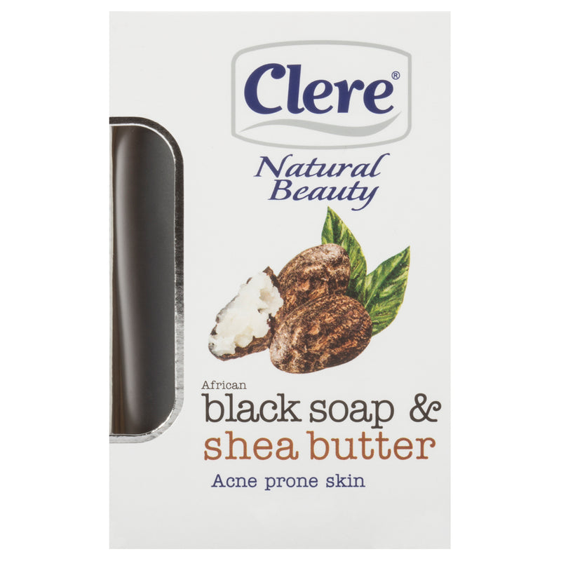 Clere African Black & Shea Butter Soap