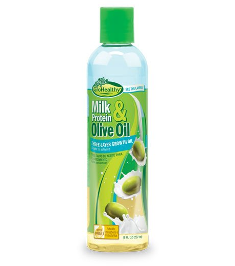 Milk & Olive Three Layer Growth Oil