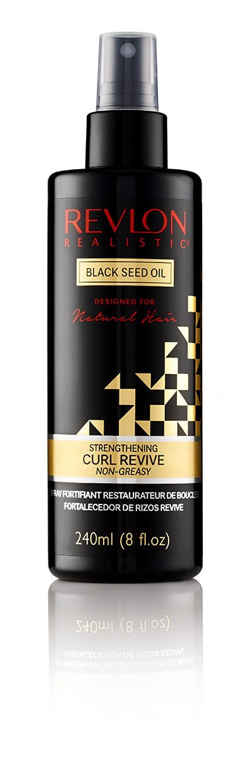 Revlon Realistic Black Seed Oil Curl Revive Spray