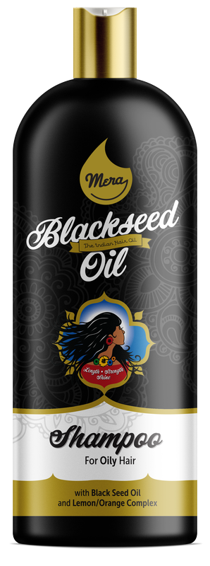 Mera Shampoo Black Seed Oil & Lemon-Orange Complex