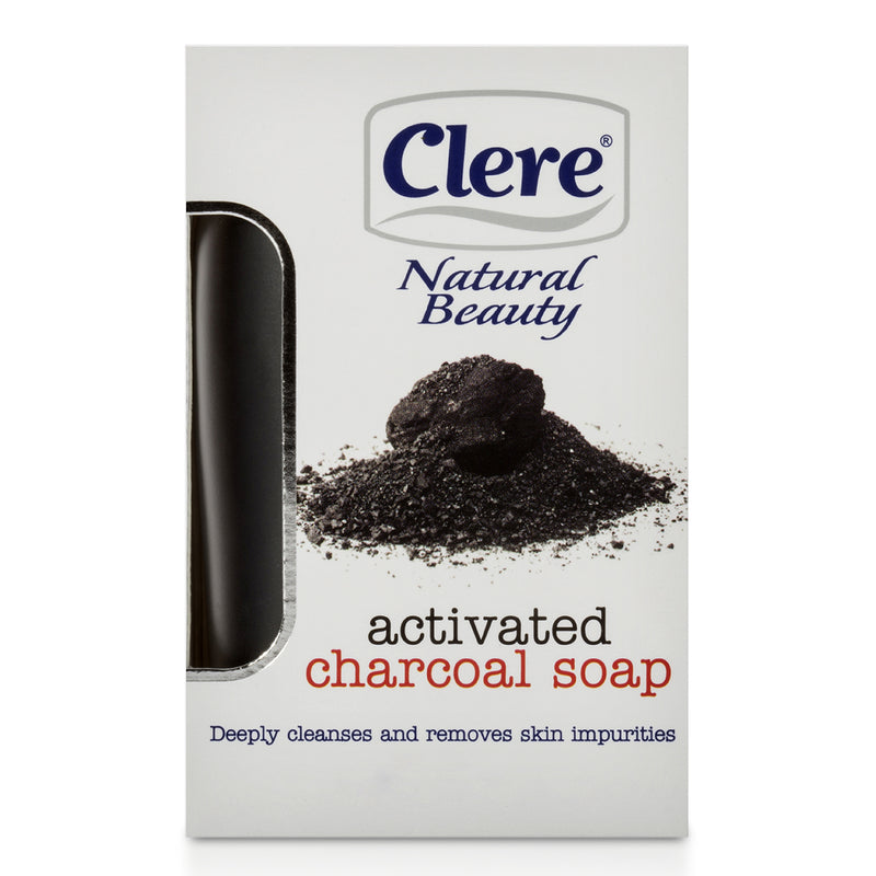 Clere Activated Charcoal Soap