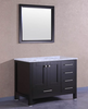 "Image of Eviva Aberdeen 36"" Espresso Transitional Bathroom Vanity w/ White Carrara Top EVVN412-36ES"