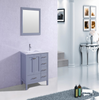 "Image of Eviva Aberdeen 36"" Gray Transitional Bathroom Vanity w/ White Carrara Top EVVN412-36GR"