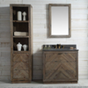 "Image of Legion Furniture 60"" Wood Vanity in Brown w/Marble WH5160 Top, No Faucet WH8560"