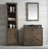 "Image of Legion Furniture 36"" Wood Vanity in Brown w/Marble WH5136 Top, No Faucet WH8536"