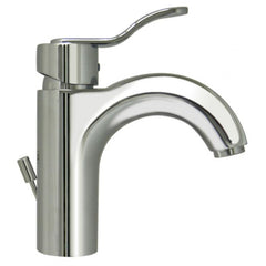 Whitehaus Single Hole Deck Mount Lever Modern Bathroom Faucet 3-04040-C