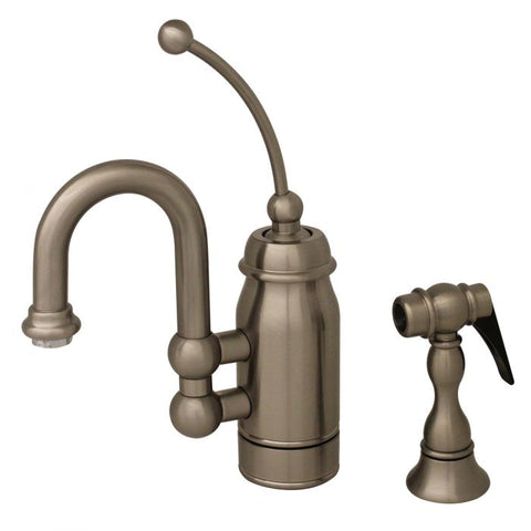 Whitehaus Baby Horizon Entertainment With Side Spray Kitchen Faucet 3-3178-C