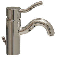Whitehaus Single Hole Deck Mount Lever Bathroom Faucet 3-4440-C