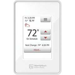 WarmlyYours Tempzone 315′ 240 Volts Floor Heating Cable Kit with Wifi Touch Thermostat Covers 78.75 Sq. Ft TCT240-KIT-OW-315