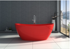 "Image of Legion Furniture 64.2"" Solid Surface Tub - No Faucet in Red Matt WJ8611-R"