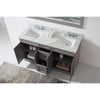 "Image of Virtu USA Talisa 60"" Double Bathroom Vanity Cabinet ED-25060-CAB"